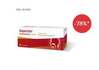仅需1欧的ASPECTON快速止痒止咳含片