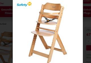 Safety 1st可调节餐椅6折,6个月用到10岁超级实用