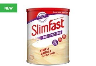 英国减肥圣器Slim Fast瘦得快产品超低价优惠:0,37磅起起