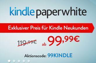 kindle paperwhite直降20欧,仅到3月7号