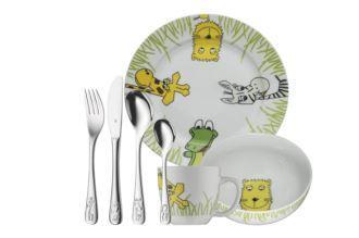 wmf七件套safari系列儿童餐具仅售33欧