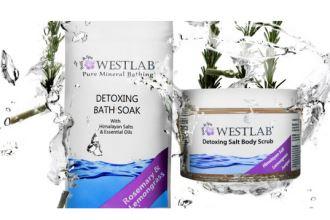 畅销欧美的身体海盐去角质霜WESTLAB买二赠一,4欧起
