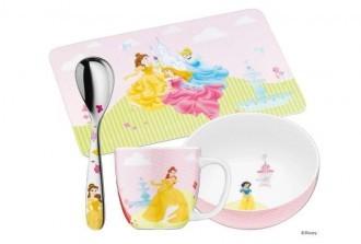 德国WMF福腾宝儿童餐具4件套迪斯尼公主系列