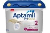 爱他美最新版白金奶粉Aptamil  Profutura仅售18.95欧