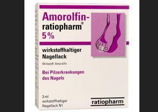 指甲真菌性发炎的救星---Amorolfin-ratiopharm 5%