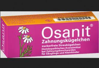 防止宝宝牙痛Osanit Zahnungskügelchen降至5,49欧