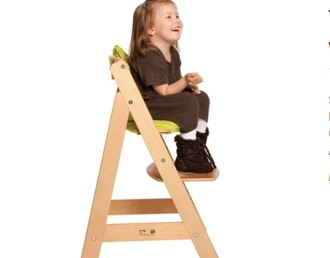 roba多功能儿童餐椅6折,一次投资10年使用