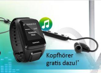 computerunivers现在买tomtom spark music送价值79欧的原装耳机