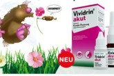 Vividrin主治花粉热季节性鼻炎眼药水仅售3.83欧
