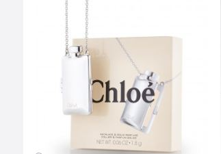 自带项链的chloe固体香氛膏,别致时尚的女香
