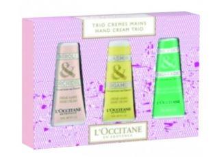 欧舒丹格拉斯系列经典护手霜三只装礼盒仅售21欧