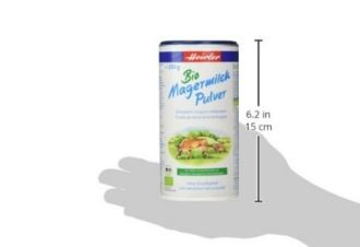 德国herler有机脱脂奶粉仅要8.9欧