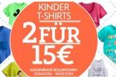 迪斯尼官网正版卡通儿童tshirt两件仅售15欧速抢