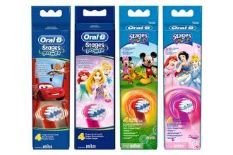 Braun Oral-B幼儿电动牙刷替换刷头全年套装仅需9.95欧