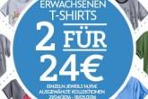 穿亲子装的好时机,迪斯尼官网成人版tshirt两件仅售24欧