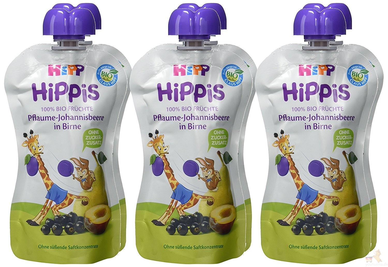 喜宝Hipp婴幼儿果汁六支装仅需5,9欧