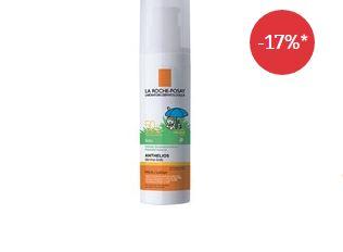 理肤泉婴儿防晒乳液lsf50+只要11.49欧