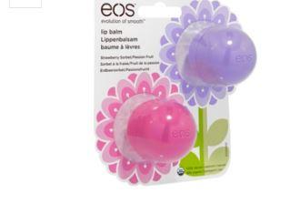 eos润唇球春天特别版两个装只要9.99欧