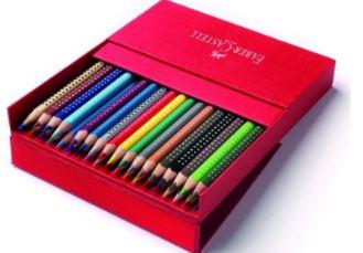 水溶性彩铅德国辉柏嘉儿童安全彩色笔7.69欧