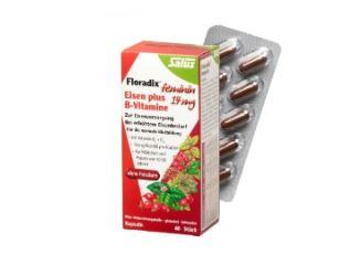 """""""铁元""""升级版胶囊Floradix,富含B族维生素仅需11,93欧"""