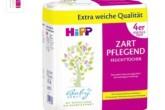 hipp喜宝新生儿湿纸巾粉色特柔软版本4包仅售3.95欧