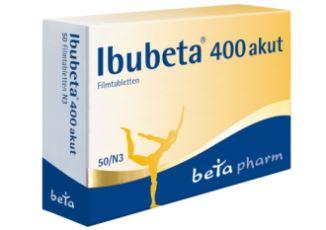 Ibubeta 400 akut止痛片只需3,98欧