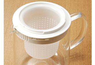 muji玻璃茶壶自带过滤功能现在8折啦