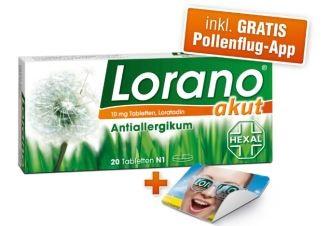 花粉荨麻疹过敏救星---Lorano脱敏片特惠价