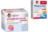 买德国双心牌保健品最新维生素B12能量安瓶附赠镁+柠檬酸复合颗粒