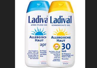 敏感性肌肤防晒护理套装Ladival仅需22,79欧