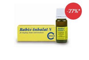 小宝宝也可用的babix感冒通鼻精油,只要4.67欧