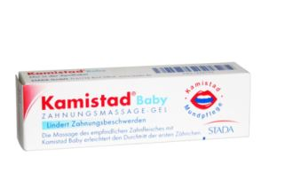 sanicare药房kamistad口腔凝胶baby款只要3.93欧