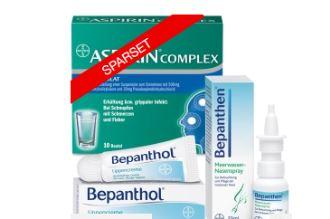 德国拜耳Bayer感冒药套装仅售14,70欧