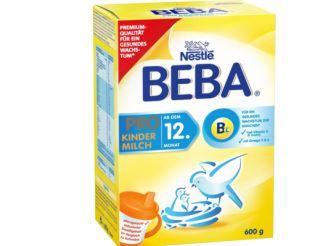雀巢出品德国beba 1岁以上奶粉直减7.5欧