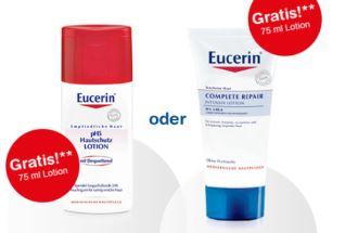 shop-apotheke新用户获赠优色林Eucerin乳液或是修复霜
