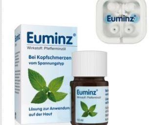 Euminz薄荷精油外用治疗头痛,现在还送同品牌耳塞