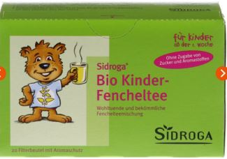sidroga初生婴儿茴香有机茶在apodiscounter药房仅售2.58欧