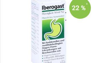 舒缓胃部神经的Iberogast滴剂在docmorris特价中