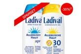 防晒、护理一点都不少---Ladival敏感性肌肤防晒护肤套装仅需22,79欧