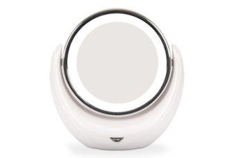 风靡欧美的最新女性家中必备RIO LED美光化妆镜