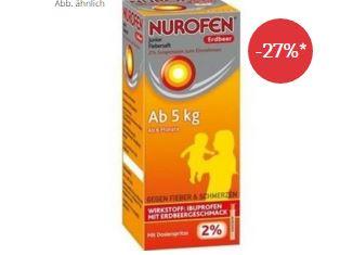 德国nurofen诺福芬婴儿止痛退烧糖浆只要2.5欧