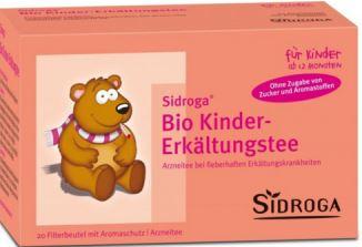 sidroga德国著名保健品牌宝宝用预防感冒有机草本茶77折扣