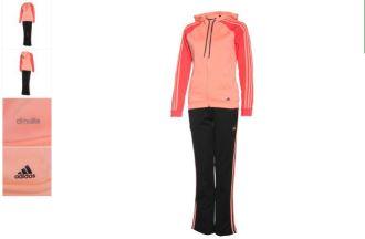 Adidas女士全套训练服折上再折只要58欧