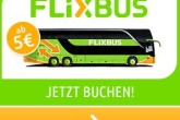 德国长途大巴Flixbus八折优惠旅行