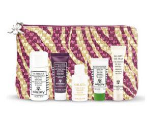 买希思黎Siesly送化妆包+五个明星产品的旅行装
