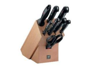 德国双立人Twin Gourmet 9件套刀4折只要99欧