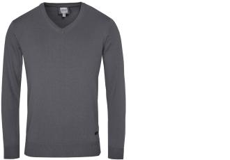 原价180欧的阿玛尼Armani男士纯棉长袖v领休闲衫降至89欧