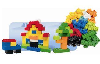 lego duplo 6176创意拼彻系列80片基础装折后只要17欧