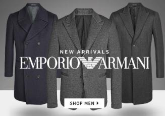 经典男装EMPORIO ARMANI阿玛尼西装外套风衣三折特惠起
