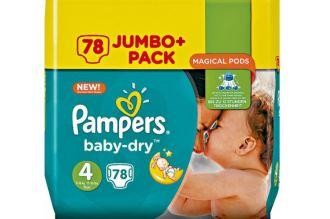 4号pampers大包装本周特价只要16.99欧